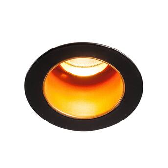 Horn Medi Downlight LED rund schwarz gold Ø6 cm...