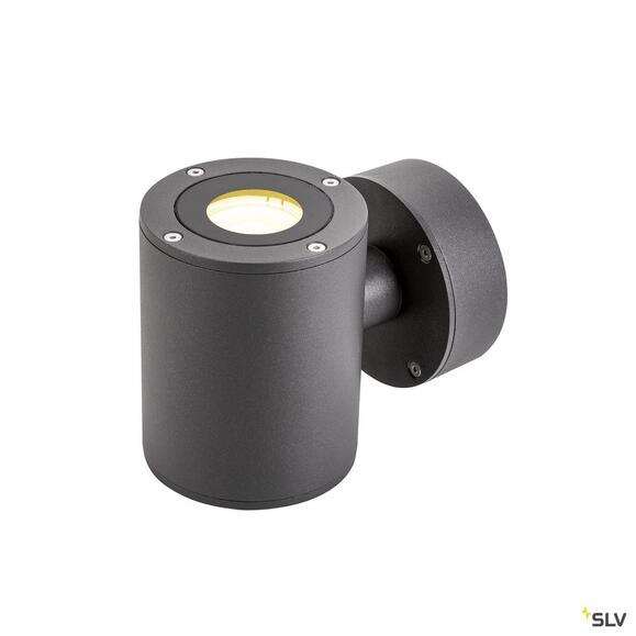 Sitra Up/Down LED Outdoor Wandaufbauleuchte anthrazit IP44 3000K 9W