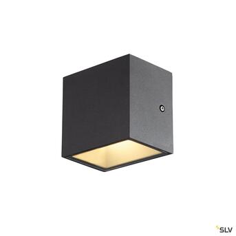 Sitra Cube LED Outdoor Wandleuchte Up&Down anthrazit IP44...