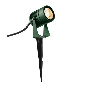 LED Spike Outdoor Erdspießleuchte grün  IP55, 3000K, 40°