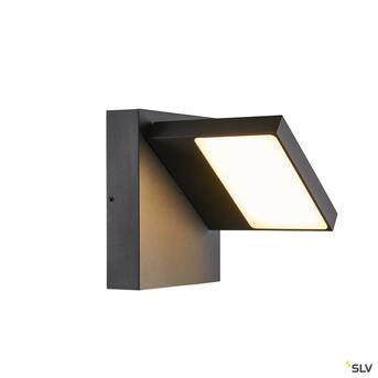 ABRIDOR, Outdoor LED Wandaufbauleuchte IP55 anthrazit...