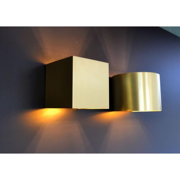 Lucide XIO - Wandleuchte - LED Dim. - G9 - 1x3,5W 2700K - Mattes Gold / Messing