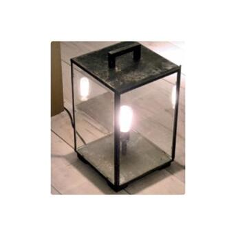 Vitrine Table Lantern Outdoor Standleuchte bronze