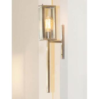 Vitrine Wall Torch 1L Wandleuchte chrom