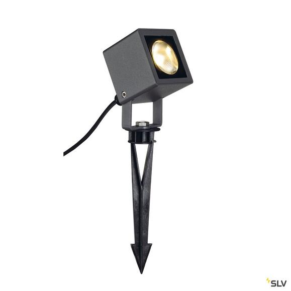 Nautilus Square LED Strahler anthrazit 6W 3000K
