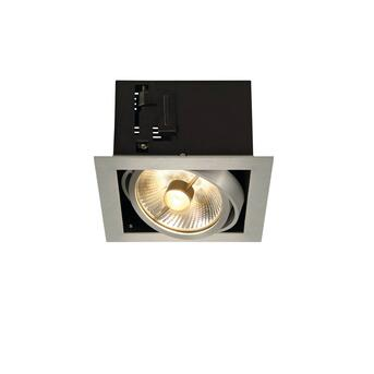 Kadux 1 ES111 Downlight eckig alu brushed max. 50W