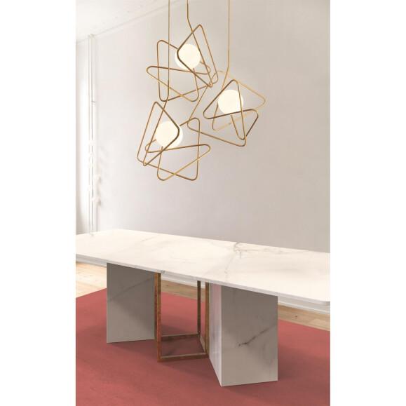inciucio dekorative pendelleuchte 3 flammig 729 00. Black Bedroom Furniture Sets. Home Design Ideas