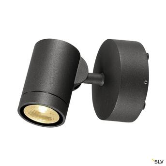 Gunnsy Wall Wandleuchte Sandy Anthracithe 8W Led 3000K