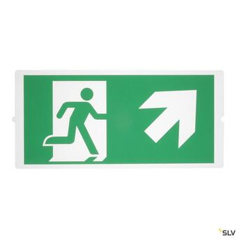 P-Light Emergency Series Stair Signs For Areal Light Green