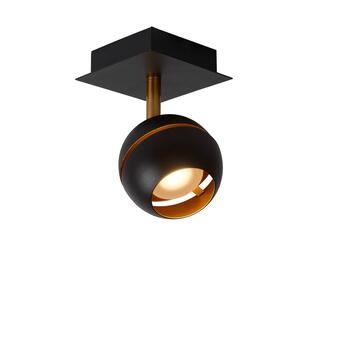 Binari Deckenspot schwarz gold LED 5W 1-flammig