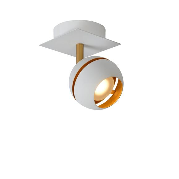Binari Deckenspot weiß gold LED 4,5W