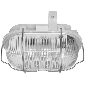 LED-Ovalleuchte Glasschirm 9,1W