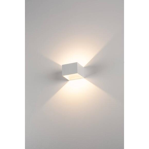 Logs In LED Wandleuchte, Weiss, 2000K-3000K Dim To Warm