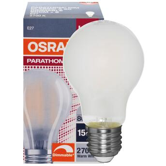 E27 7W 806 Lumen 2700K warmweiß dimmbar LED Retrofit...